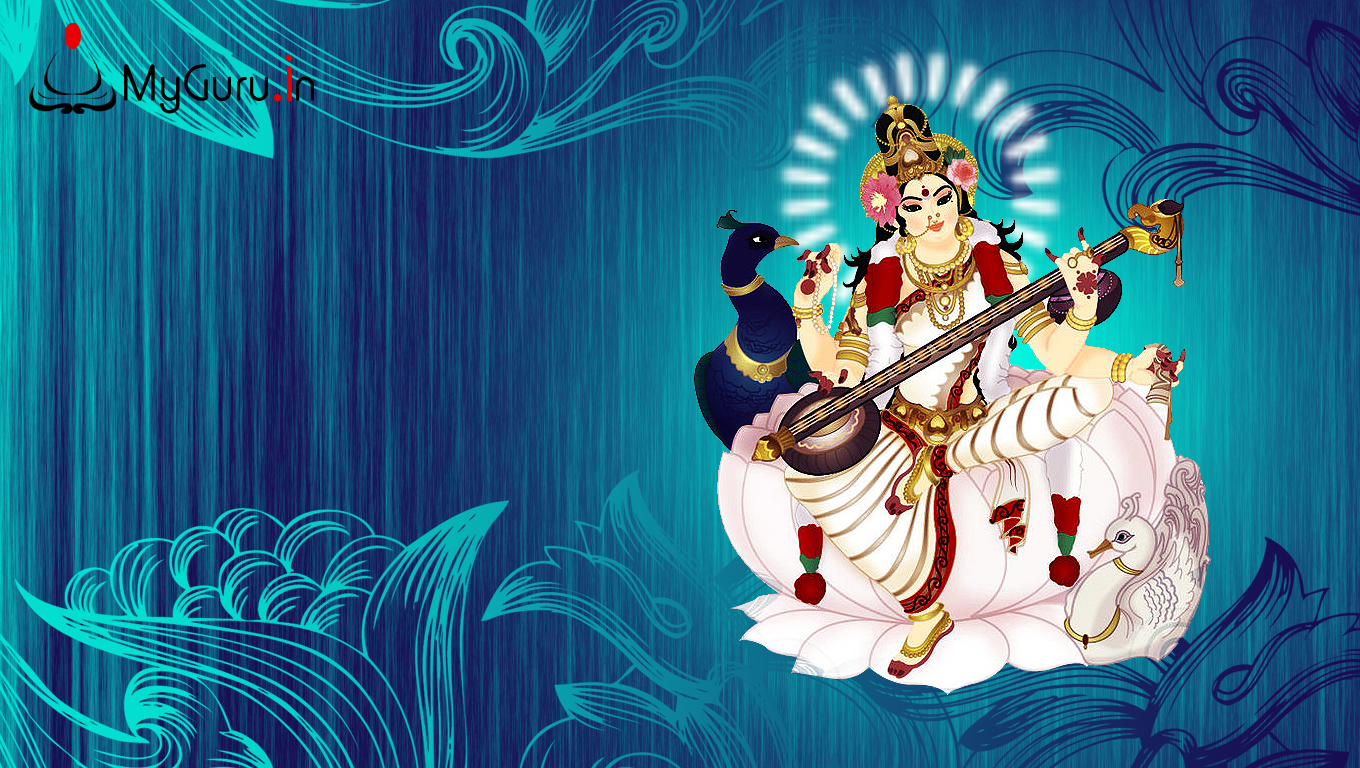 Goddess Saraswati wallpapers, images of Goddess Saraswati ...