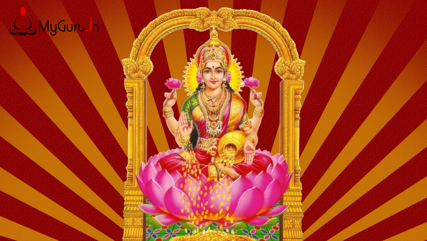 Home » Goddess Lakshmi Wallpapers
