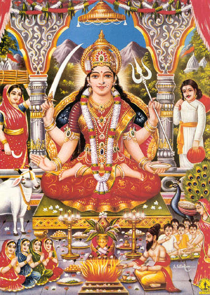 durga devi essays Amba mataji or ambe maa is adhya shakti (original energy force) prakruti becomes powerful and energized by worshipping her amba mata, durga devi and such other, are goddesses who represent naturalness of prakruti these goddesses cannot destroy one's sins, but they give energy.